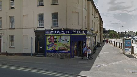 Police are investigating a theft from McColls in Newmarket. Picture: GOOGLEMAPS