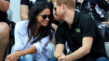 Prince Harry and Meghan Markle, who are set to marry next weekend, pictured here at the 2017 Invictu