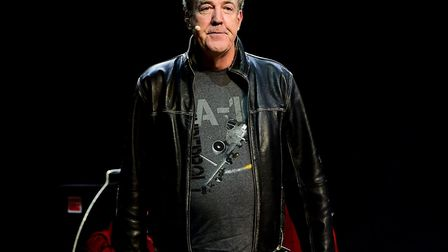 Jeremy Clarkson, in jeans, in 2015 and it's fine. Picture: IAN WEST/PA WIRE