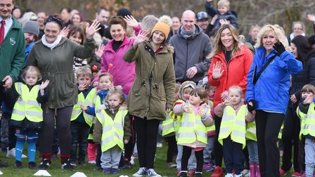 Wells Hall Primary school is among those that has started The Daily Mile. Picture: GREGG BROWN