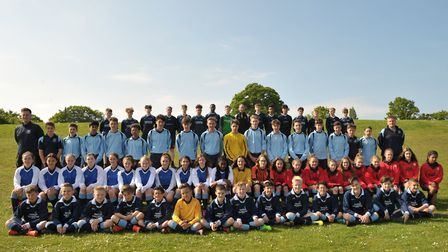 Kesgrave High School has five sports teams reaching county finals. Picture: SARAH LUCY BROWN