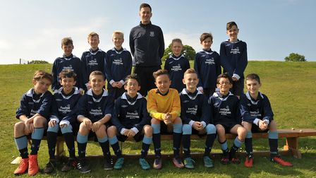 Year 7 boys. Picture: SARAH LUCY BROWN