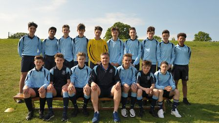 Year 9 boys. Picture: SARAH LUCY BROWN