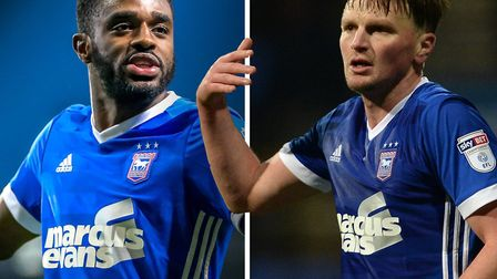 Mustapha Carayol and Stephen Gleeson are free to find new clubs. Picture: Steve Waller/Warren Page