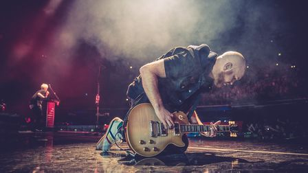 The Script. Picture: PETER NEILL
