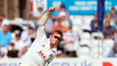 Essex's Simon Harmer in action - Don Topley thinks Essex need to get back to the bowling tactics the