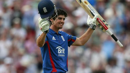 Alastair Cook is leading the Essex batting averages - but will disappear off to England duty soon. P