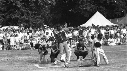 Break dancing demonstrations entertained the crowds. Picture: RICHARD SNASDELL