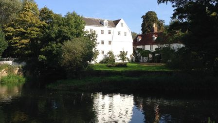 Bures Mill, which will be taking part in the open gardens event this year. Picture: DUNCAN BRINKLEY