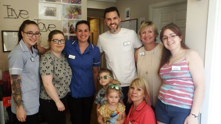 A number of friends and neighbours enjoyed visiting Hillcroft House for the open day. Picture: HEALT