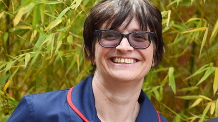Ipswich nurse Tracey Risebrow led the motion. Picture:SARAH LUCY BROWN
