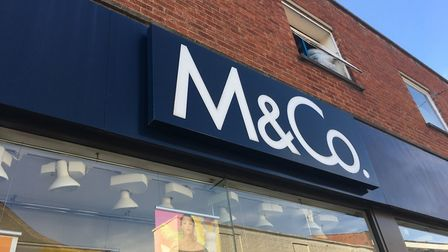 M&Co in Woodbridge Thoroughfare, where a fire was reported. Picture: KATY SANDALLS