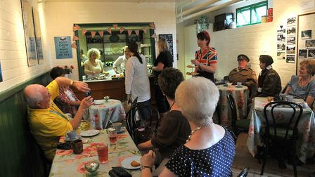 The Marigold tea rooms at the Dad's Army museum in Thetford. Picture: SONYA DUNCAN