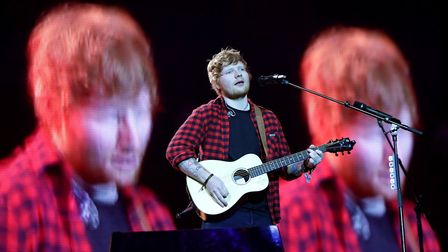 Ed Sheeran is starring in the film - but not the scene in Gorleston. Picture: YUI MOK/PA WIRE