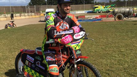 Danny Ayres, back in the Mildenhall line-up on Sunday.