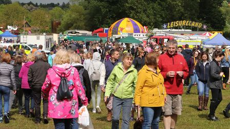 Visitors to last year's Hadleigh Show. Picture: SEANA HUGHES