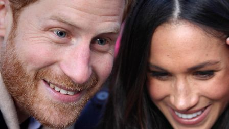 Prince Harry and Meghan Markle, soon to be the Duke and Duchess of (insert name here). Picture: HARR