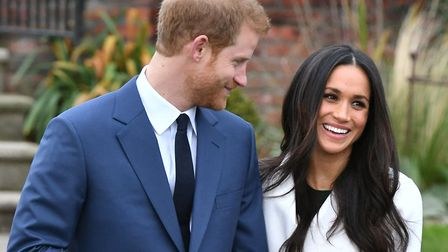 Prince Harry and Meghan Markle. Picture: DOMINC LIPINSKI/PA WIRE