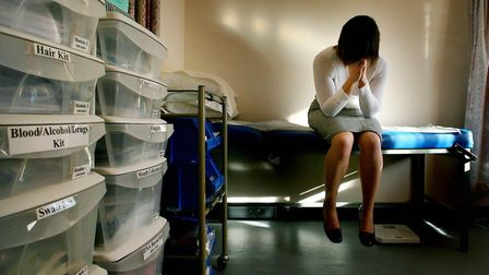 Serious sexual offences went up 29.5% against a three-year average in the 12 months to April 10 (Pic