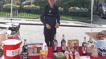 Students from the Ryes College in Sudbury are fundraising for Help for Heroes Picture THE RYES