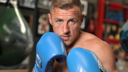 Ipswich boxer Ryan Copland is making his pro debut at the Corn Exchange on Saturday Picture: SARAH L