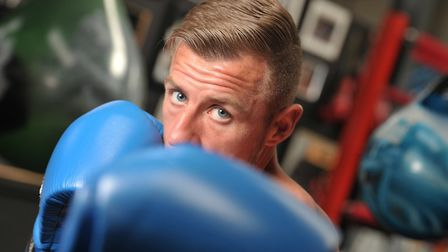 Ryan Copland had a stellar record on the white collar boxing scene. Picture: SARAH LUCY BROWN