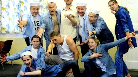 The Barton Players present South Pacific at Great Barton Village Hall. PICTURE: Andy Abbott
