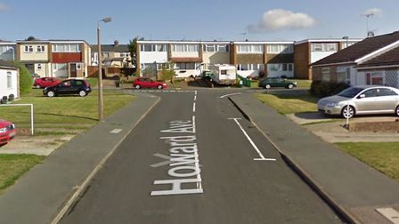 The fire happened in Howard Avenue, Dovercourt. Picture: GOOGLE MAPS
