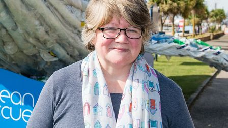 Suffolk Coastal MP Therese Coffey who has been replaced as a minister due to illness