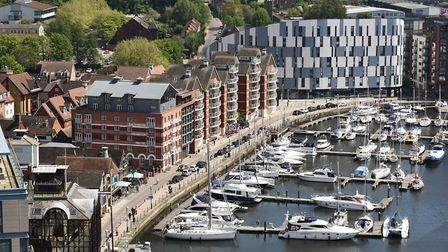 The Waterfront in Ipswich will provide the back drop for the PhotoEast festival. Picture: ANGELA SHA