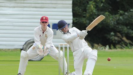 Mildenhall's Matt Allen, in typically aggressive style, guided his side to victory at Bury with an u
