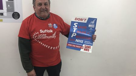 Anthony Dooley, from Suffolk Unite Community Picture: GEMMA MITCHELL