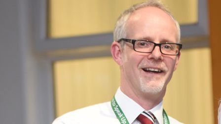 West Suffolk Hospital chief executive Steve Dunn Picture: GREGG BROWN