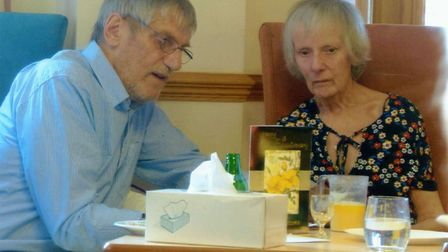 Brian and Anita Sharp celebrated their golden wedding anniversary with a party at Jamie Cann House o