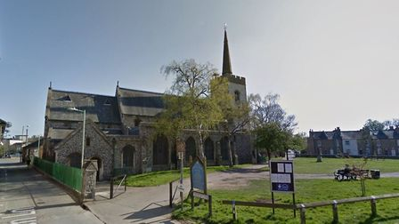 The incident happened in Church Lane, Newmarket Picture: GOOGLE MAPS