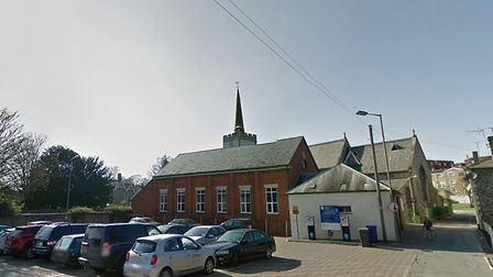 The incident happened in Church Lane, Newmarket, close to Turner Hall, pictured Picture: GOOGLE MAPS