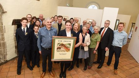 The family of Bury St Edmunds artist Sybil Andrews will mark the 120th anniversary of her birth by a