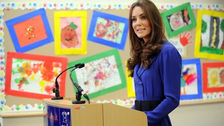 Her Royal Highness the Duchess of Cambridge gave her first public address at The Treehouse when she