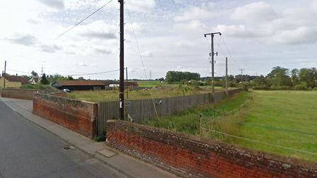 The development site is off Benton Street in Hadleigh. Picture: GOOGLE MAPS