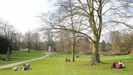 Christchurch Park, Ipswich, is one of Suffolk's 925 County Wildlife Sites. Picture: LUCY TAYLOR