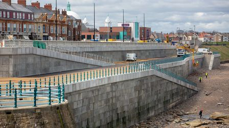 Suffolk company Poundfield Products has played a role in a £36m regeneration project at Whitley Bay.