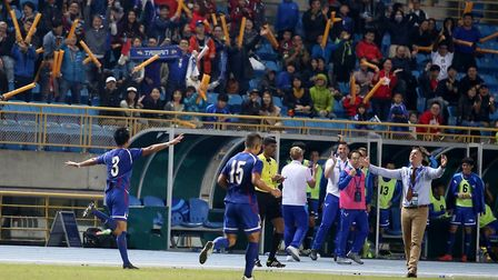 Taiwan have climbed to their highest-ever FIFA ranking of 121 under Gary White's management. Photo: