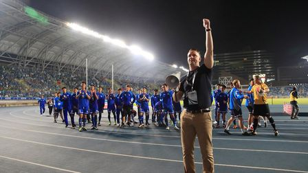 Gary White has his sights set on being England manager one day. Photo: Chinese Taipei Football Assoc