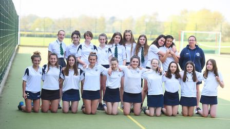 Thomas Mills High School pupils have won a variety of hockey tournaments. Picture: GREGG BROWN