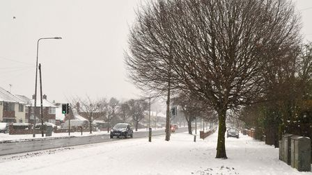 The council spent millions of pounds keeping roads clear during the snow. Picture: SARAH LUCY BROWN