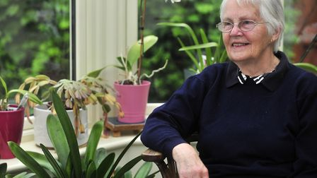Margaret Young, from Ipswich, who is a descendant of suffragist Millicent Fawcett. Picture: LUCY TAY
