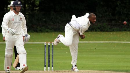 Merv Westfield, who took four wickets in Frinton's four-wicket win at Copdock & Old Ipswichian on Sa