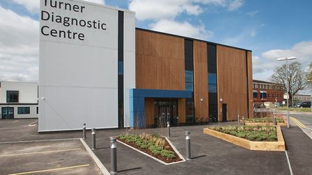 The Turner Diagnostic Centre at Colchester Hospital has welcomed its first patients. Picture: PAUL D