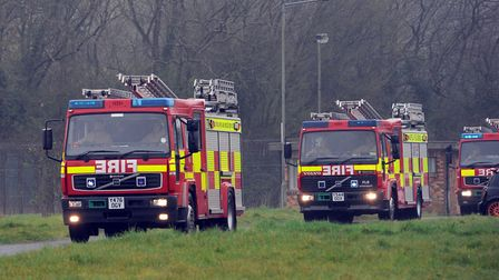 Two crews were called to the scene. Stock picture. Picture: PHIL MORLEY