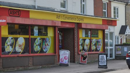 Ash's Convenience Stores, West Bergholt. Picture: SARAH LUCY BROWN